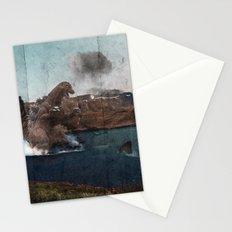 King Godzilla Stationery Cards