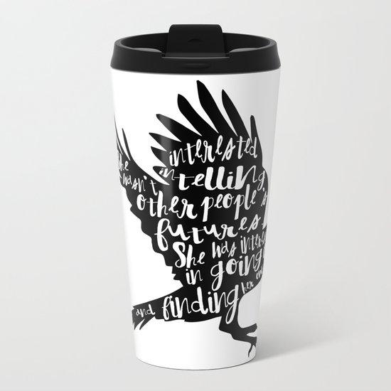 Other People's Futures - The Raven Boys Metal Travel Mug