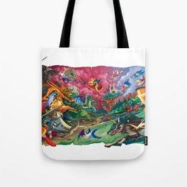 Zelda Mash Up Tote Bag