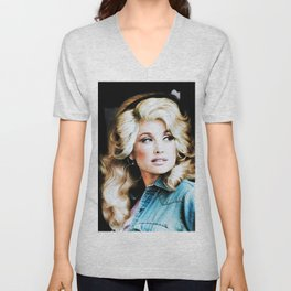 young dolly part on tour dates 2021 bahasuan Unisex V-Neck