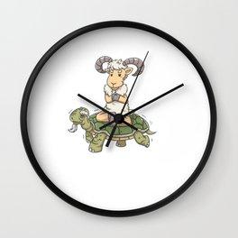 i`ll Goat There SOON! Wall Clock