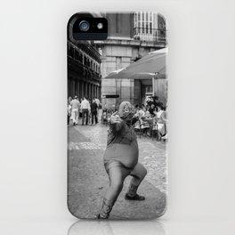Fat Spider Man iPhone Case