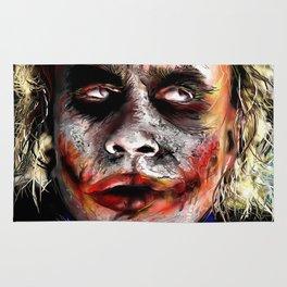 The Joker Painted Rug