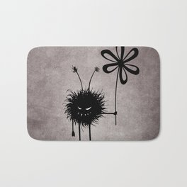 Evil Flower Bug Bath Mat