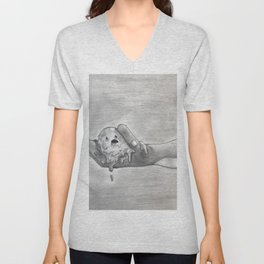 Oh no, Georgie. Unisex V-Neck