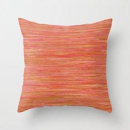 Series 7 - Tangerine Throw Pillow
