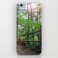 Mystic woods iPhone & iPod Skin