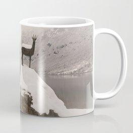 The Stag At Lake Bohinj Coffee Mug