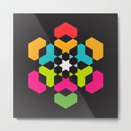 hexeosis5c Metal Print
