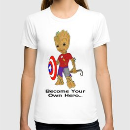 Become Your Own Hero T-shirt