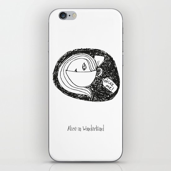 Alice I iPhone & iPod Skin