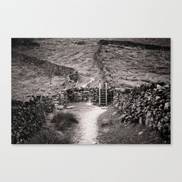 Crossing Place Canvas Print