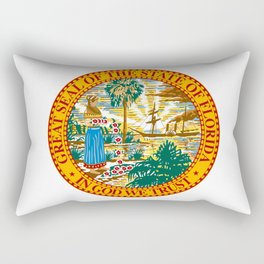 Florida State Seal Rectangular Pillow