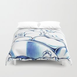 Big Toes Duvet Cover