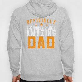 Officially Amazing Dad Fathers Day Gift Idea Hoody