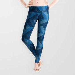Pattern: Blue square Leggings