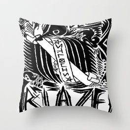 STL Blaze Throw Pillow