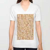 in the flesh V-neck T-shirts featuring Flesh by Jessica Baldanza