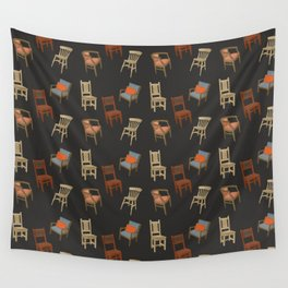 House of Chairs Wall Tapestry