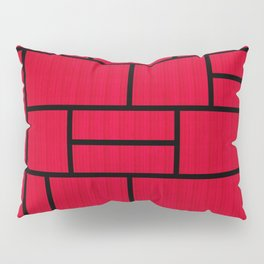 Mondrian Bauhaus Pattern #10 Pillow Sham