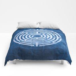 Solving Mazes Comforters