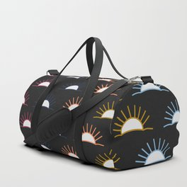 Sunset pattern Duffle Bag