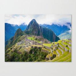 Breathtaking Machu Picchu Canvas Print