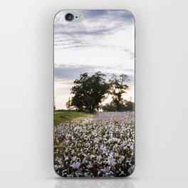 Cotton Field 9 iPhone Skin