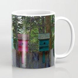 Birdhouse blues Coffee Mug