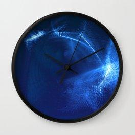 Saphire Moon Wall Clock