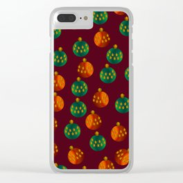 Christmas - The Best Time Of The Year Clear iPhone Case