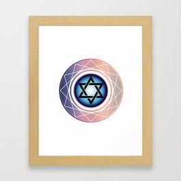 Jewish Star of David Framed Art Print