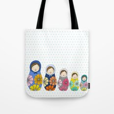 More Matryoshkas Tote Bag
