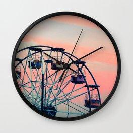 Winter Ferriswheel Wall Clock