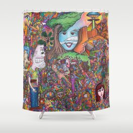 Take A Look Shower Curtain