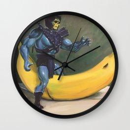 Riding Bananor Wall Clock