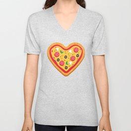 Pizza Love Unisex V-Neck