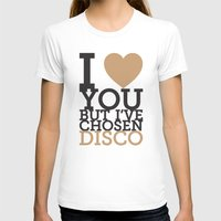 disco T-shirts featuring Disco by neil parrish