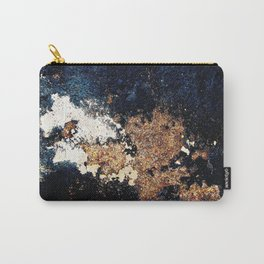 Alien Continents ruined wall texture grunge Carry-All Pouch