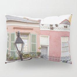 New Orleans Golden Hour in the Quarter Pillow Sham