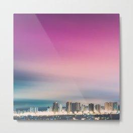 Big City Skyline Metal Print