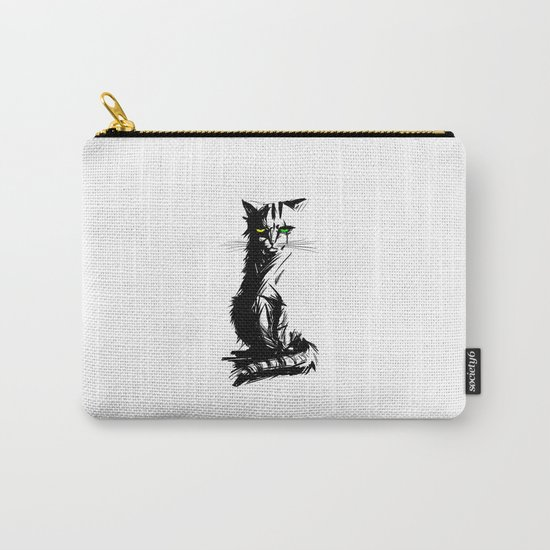 Mad Meow Carry-All Pouch
