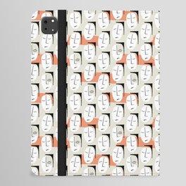 Cubist Faces iPad Folio Case