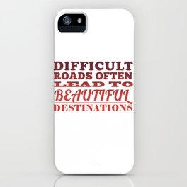 Beautiful Destinations iPhone Case