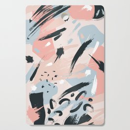Pastel abstraction I Cutting Board