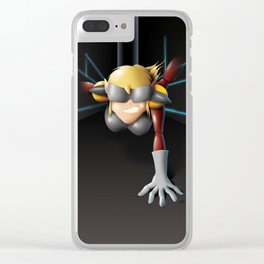 Alexis: Blinding Rage of C.U.T.E. Clear iPhone Case
