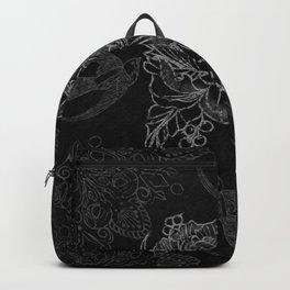 Messy flower Backpack