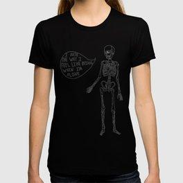 Joyce Manor Skeleton T-shirt