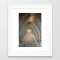 concrete Framed Art Prints featuring Concrete by Daniel Fornies