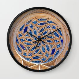 rose window Wall Clock